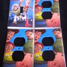 Disney TOY STORY LIGHT SWITCH & OUTLET COVERS Cool!
