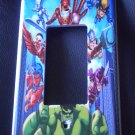 MARVEL SUPER HERO SQUAD GFI OUTLET  Rocker Light Switch