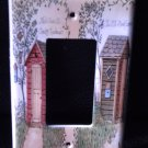Linda Spivey OUTHOUSES GFI OUTLET COVER Bathroom Decor