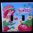 The New STRAWBERRY SHORTCAKE DOUBLE LIGHT SWITCH COVER