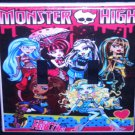 MONSTER HIGH DOUBLE LIGHT SWITCH COVER Girls Room Decor Double Switch Plate