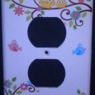 Dena HAPPI TREE OUTLET Plate Cover Owls Kids Line Happi Tree Outlet Cover