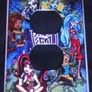 MONSTER HIGH OUTLET COVER Girls Room Decor Outlet Plate Cover