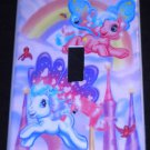 MY LITTLE PONY LIGHT SWITCH COVER Beautiful Pink & Purple Pony Switch plate