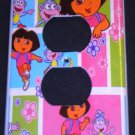 DORA the EXPLORER OUTLET COVER Dora and Boots outlet plate CUTE
