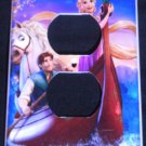 TANGLED Rapunzel  OUTLET PLATE COVER *CUTE* Single outlet plate faceplate