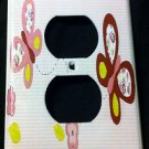 Sugar Plum BUTTERFLIES OUTLET plate cover Cocalo Purple Butterflies CUTE