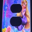 TANGLED Rapunzel OUTLET COVER Beautiful Purple Outlet Plate Cover