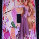 TANGLED Rapunzel  LIGHT SWITCH COVER Pretty Flowers Single Switch Plate