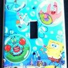 SPONGEBOB Blowing Bubbles LIGHT SWITCH COVER SPONGEBOB & Friends single switch