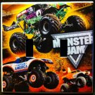 MONSTER JAM MONSTER TRUCKS DOUBLE LIGHT SWITCH COVER LOOK Switch Plate
