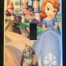 SOFIA the First LIGHT SWITCH COVER PRINCESS Sofia Single Switch plate CUTE