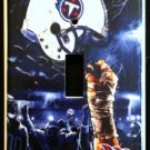 Tennessee TITANS LIGHT SWITCH COVER *Great Gift FOOTBALL single switch plate