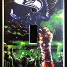 SEATTLE SEAHAWKS LIGHT SWITCH COVER *Great Gift FOOTBALL single switch plate