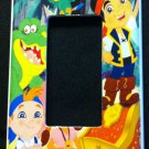 JAKE and the NEVERLAND PIRATES GFI OUTLET COVER / ROCKER LIGHT SWITCH faceplate