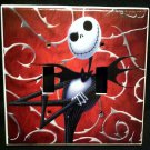 NIGHTMARE BEFORE CHRISTMAS DOUBLE LIGHT SWITCH COVER Jack Skellington Red