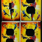 POWER RANGERS LIGHT SWITCH & OUTLET COVERS Cool! Power Rangers Samurai outlets