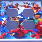 MARVEL SUPER HEROES  Double OUTLET COVER Look! Cool!