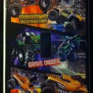 MONSTER JAM MONSTER TRUCKS LIGHT SWITCH COVER LOOK Single switch plate