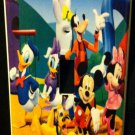 MICKEY MOUSE Clubhouse LIGHT SWITCH COVER MICKEY & Friends Mickey's Clubhouse