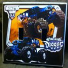 MONSTER JAM Son-Uva Digger DOUBLE LIGHT SWITCH COVER MONSTER TRUCKS