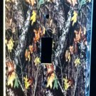 MOSSY OAK BREAKUP CAMOFLAUGE LIGHT SWITCH Plate Camo Single Switch Cover