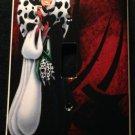 Disney Villain CRUELLA DEVILLE LIGHT SWITCH COVER Single switch plate
