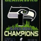 SEATTLE SEAHAWKS Super Bowl XLVIII CHAMPIONS LIGHT SWITCH COVER Single switch