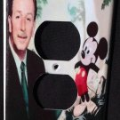 Disney Classic MICKEY MOUSE & Walt Disney Outlet COVER Outlet plate cover