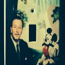 Disney Classic MICKEY MOUSE & Walt Disney LIGHT SWITCH COVER Single Switch Plate