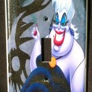 Disney Villain URSULA LIGHT SWITCH Cover Single Switch Plate  Little Mermaid