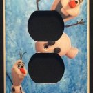 Disney FROZEN OUTLET Cover OLAF Outlet plate cover Disney Frozen room decor