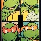 NINJA TURTLES LIGHT SWITCH COVER Look! Cool! Single switch plate Ninja Turtles