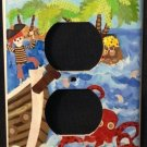 Circo PIRATES OUTLET plate Pirates room decor CUTE! Outlet plate cover