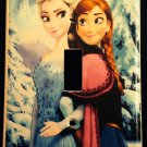 Disney FROZEN LIGHT SWITCH COVER Anna & Elsa Single light switch plate winter