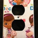 DOC MCSTUFFINS OUTLET COVER Lambie Hallie Stuffy outlet plate cover Hearts