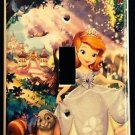 SOFIA the First LIGHT SWITCH COVER PRINCESS Sofia Single Switch plate garden