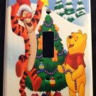 Disney WINNIE the POOH & TIGGER Christmas LIGHT SWITCH COVER Single switch plate