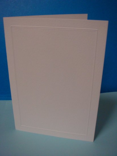 Folded Card to Mount a 4 x 6 CUSTOM PHOTO INVITATIONS ANNOUNCEMENT