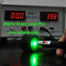 Powerful 200MW Green Laser Pointer - Can Light a Match