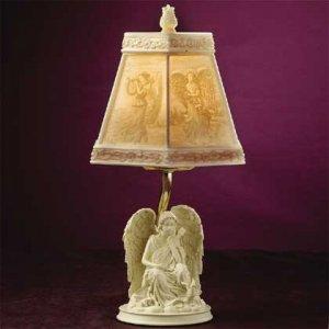 Alabastrite Angel Lamp (Item # 29321)
