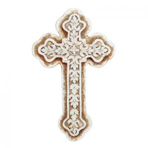 Sandstone Finish Wall Cross (item # 32364)