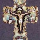 Life of Jesus Scroll Wall Cross (Item # 34090)