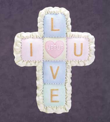 Quilt Wall Cross (Item # 34259)