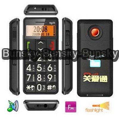 Super Simple GSM Unlocked Mobile Phone For Elders & Children, FM radio, GSM 900 / 1800MHZ (L99)