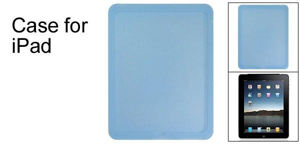Textured Cornflower Blue Silione Skin for Apple iPad