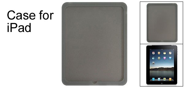 Back Cover Case Protector Silione Skin for Apple iPad