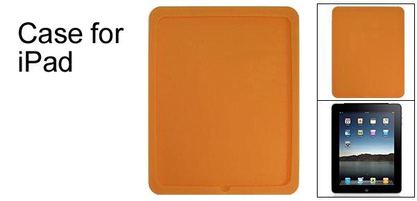 Protective Apple iPad Back Orange Silicone Skin