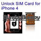 Unlock SIM Card for iPhone 4, Working with 4.1, 4.2.1 and 4.3.1