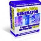 Dynamic Pricing Generator(TM)